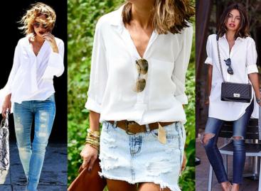 Camisa Branca, como usar.