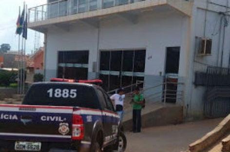 Operação investiga esquema de improbidade na Câmara de Tucumã