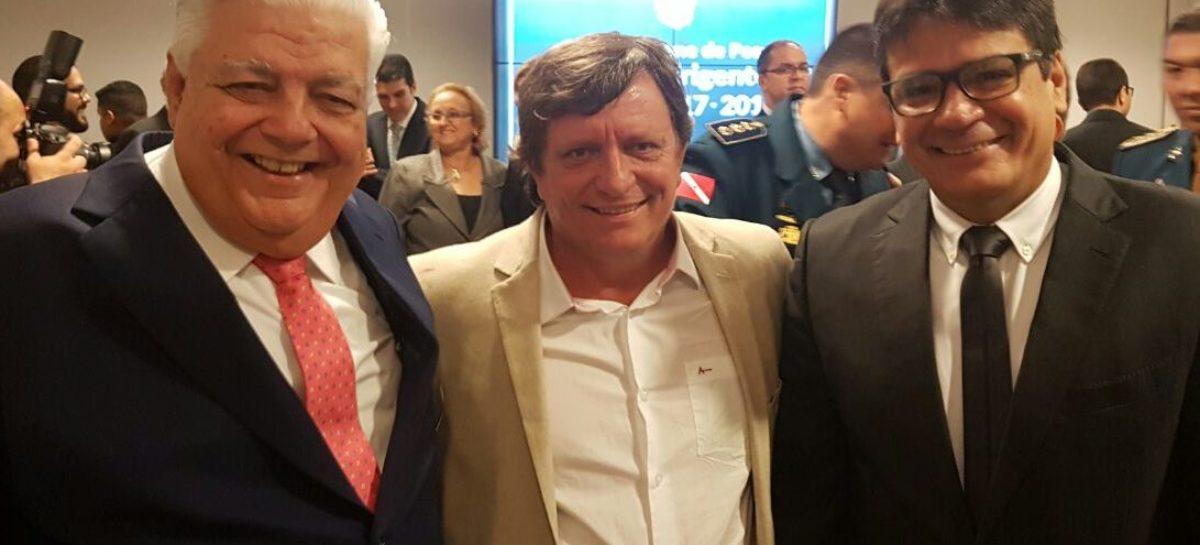 Darci Lermen participa da posse dos novos dirigentes do TCM-PA