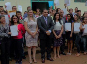 Prefeitura realiza solenidade de posse para novos concursados em Curionópolis