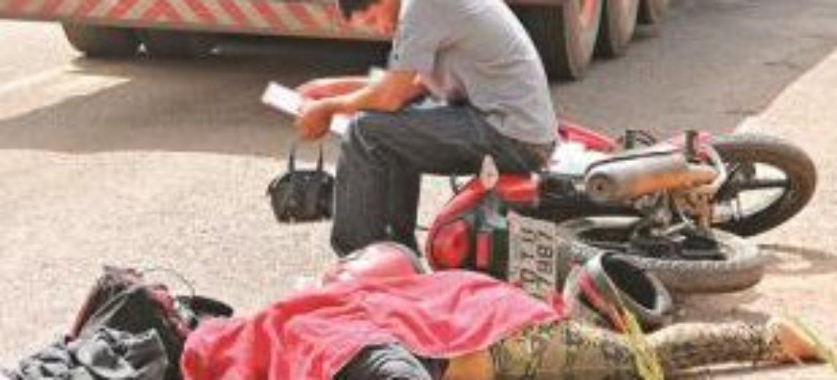 Mulher morre em acidente em Marabá