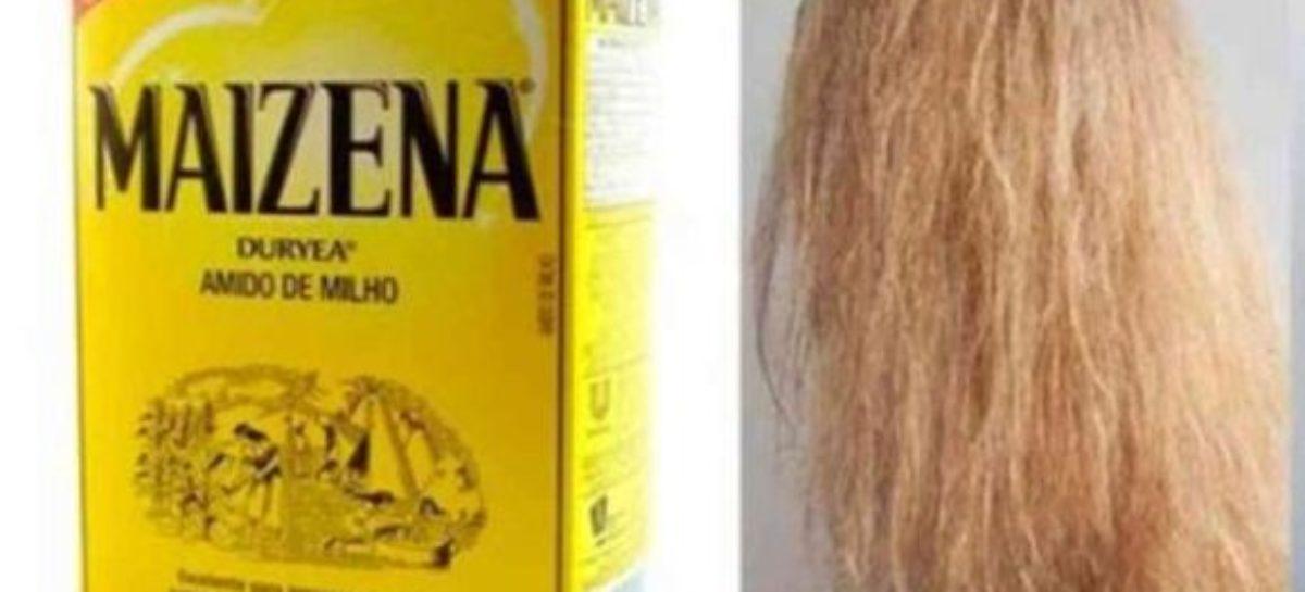 Repare os cabelos danificados com esta receita de maizena