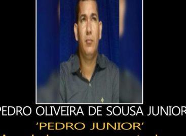 A Policia Civil esta à procura de Pedro Oliveira de Sousa Junior
