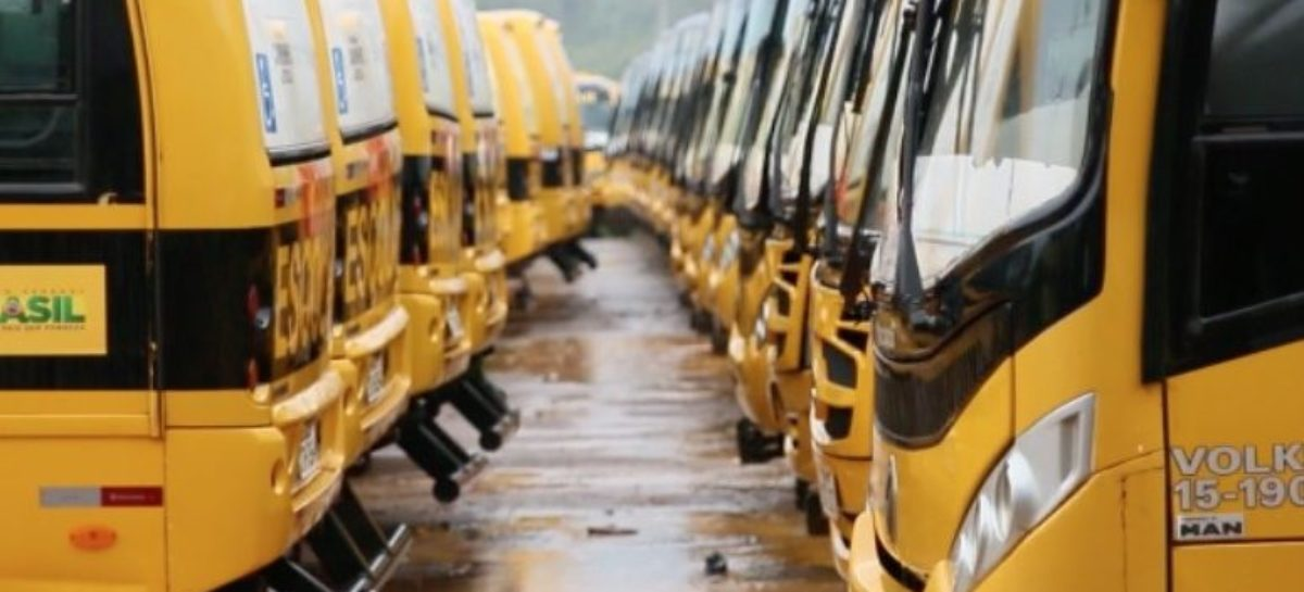 Frota escolar de Parauapebas está sucateada e manutenção é estimada em R$ 2,4 milhões