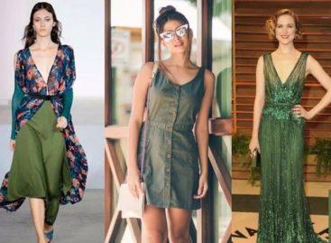 Saiba como vestir bem o verde, a cor do ano