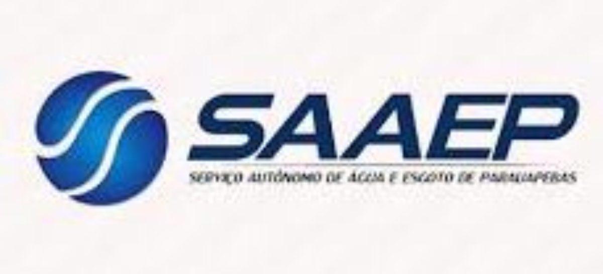 Comunicado Saaep: Serviço de limpeza de reservatório de água vai ocasionar na falta do líquido por algumas horas