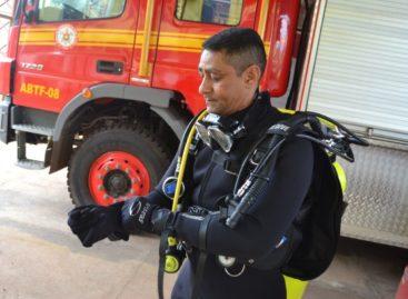Corpo de Bombeiros de Parauapebas recebe equipamentos de mergulho