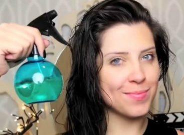 Misturinha caseira com vinagre que vira finalizador de cabelos e até adstringente