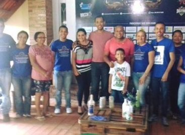 Instituto beneficente amigos que brilham recebe visita do COMDCAP