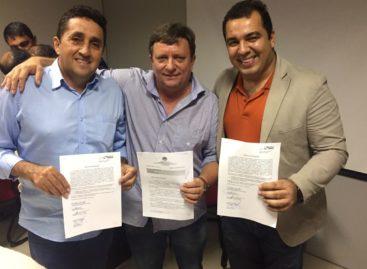 Prefeitos Darci, Jeová e Adonei decidem sobre regionalização da saúde