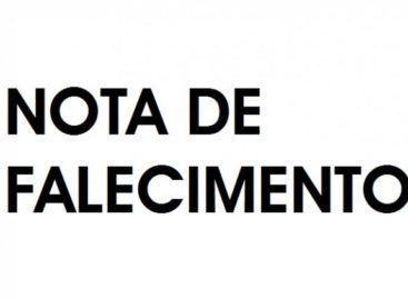 Nota de Pesar pelo falecimento do servidor público Waldomiro Costa Pereira