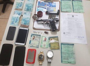 PRF desarticula bando que planejava assaltos no interior do estado