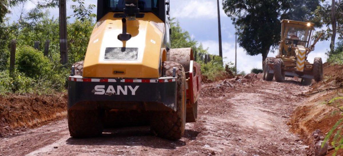 Estradas da zona rural de Parauapebas são recuperadas pela prefeitura