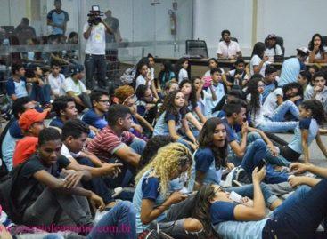 COORDENADORIA MUNICIPAL DA JUVENTUDE E UGEPA REALIZAM 1ª PLENÁRIA DOS ESTUDANTES SECUNDARISTAS DE PARAUAPEBAS