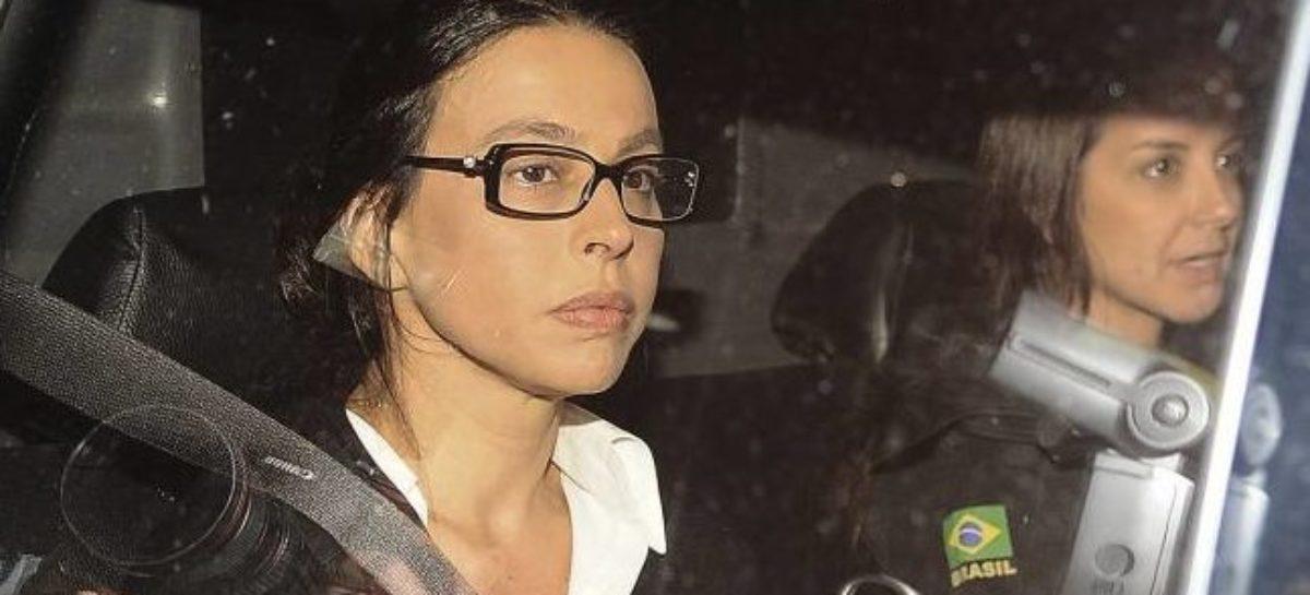 TRF manda Adriana Ancelmo de volta à prisão