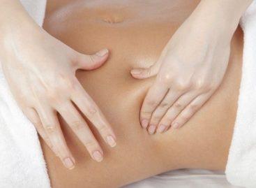 Massagem pode ajudar a perder barriga