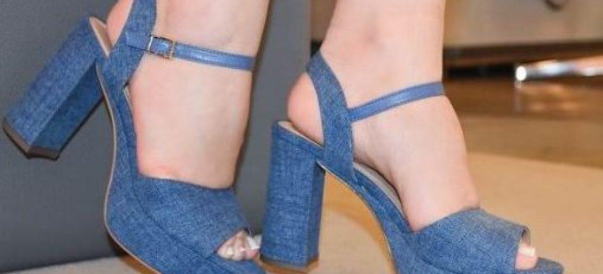 Sapatos Jeans são Destaques da Moda 2017