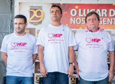 PREFEITURA INAUGURA ALA DE SERVIÇOS ONCOLÓGICOS NO HGP
