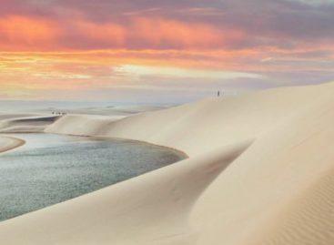 Como se formam as enormes dunas dos Lençóis Maranhenses?