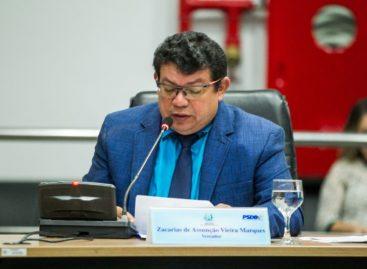 Vereador Zacarias pede sinalização de ciclovias e limpeza de canal