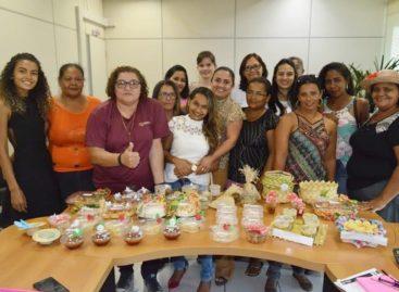 Produtoras rurais de Parauapebas preparam buffet para casamento comunitário