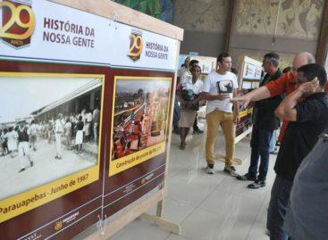 """""""HISTÓRIA DA NOSSA GENTE"""" É APRESENTADA EM EXPOSIÇÃO ITINERANTE"""