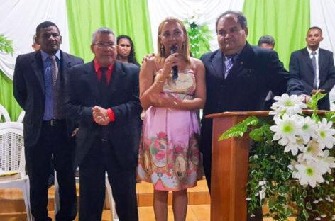Instituto beneficente amigos que brilham é convidado para participar do culto convencional da CONAMEB na igreja sede