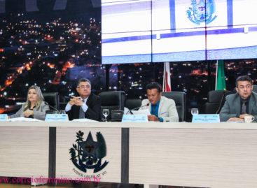 Sessão da Câmara de Vereadores de Parauapebas