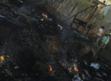 Casa pega fogo e tem perda total em Parauapebas