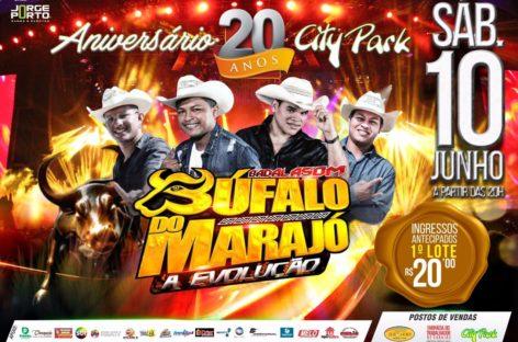 Neste sábado tem o Búfalo do Marajó no City Park