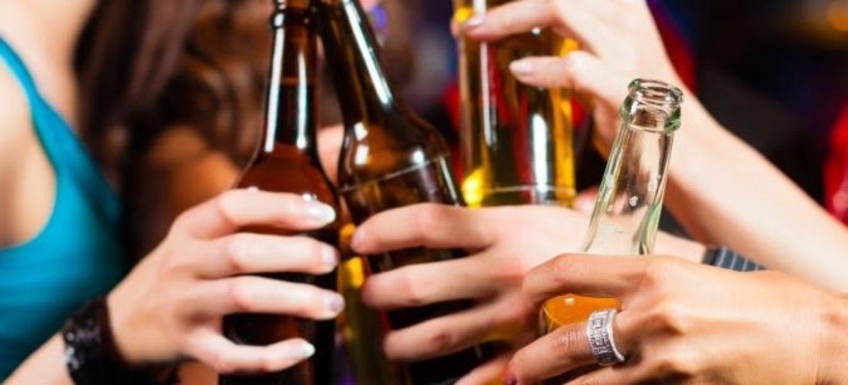 Álcool na adolescência diminui tecido cerebral