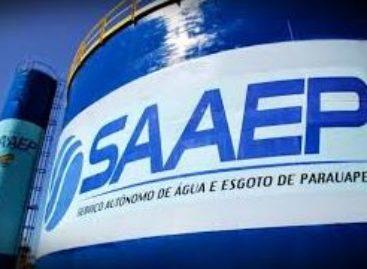 Comunicado do Serviço Autônomo de Água e Esgoto de Parauapebas (Saaep)