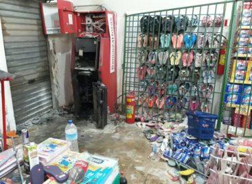 Bandidos arrombam caixa eletrônico dentro de supermercado, em Parauapebas
