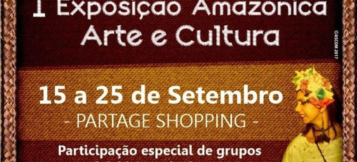 Abertura da 1ª Exposição Amazônica Arte e Cultura de Parauapebas