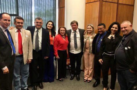 Vereadores e prefeito de Parauapebas lutam pela votação da MP Nº789/2017