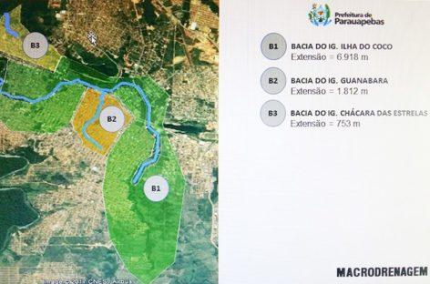 Prefeitura trabalha para agilizar macrodrenagem de Parauapebas