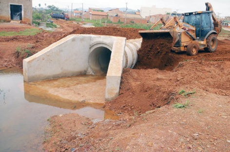 Obras de drenagem irão beneficiar todo o complexo VS-10
