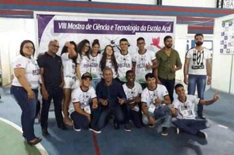 Estudantes de Parauapebas são premiados em feira internacional de Ciência e Tecnologia