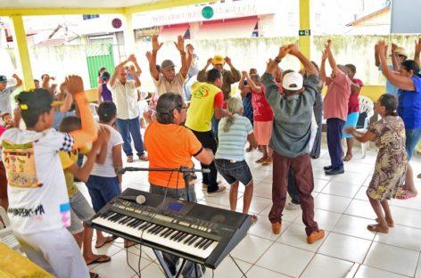 Alegria encerra atividades do ano no Cras Altamira