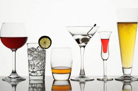 Ranking de calorias das bebidas alcoólicas