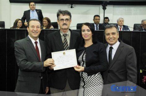 ALEPA entrega Título Honorífico de Cidadão do Pará a dois indicados do deputado Gesmar Costa