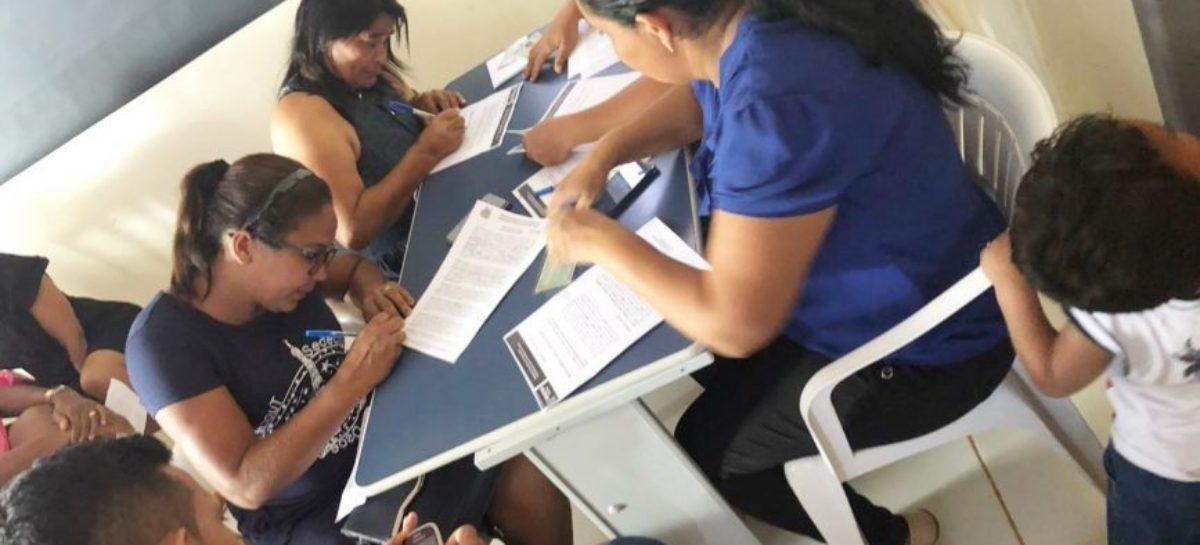 Beneficiário do residencial Vila Nova ll assinam contrato de moradia