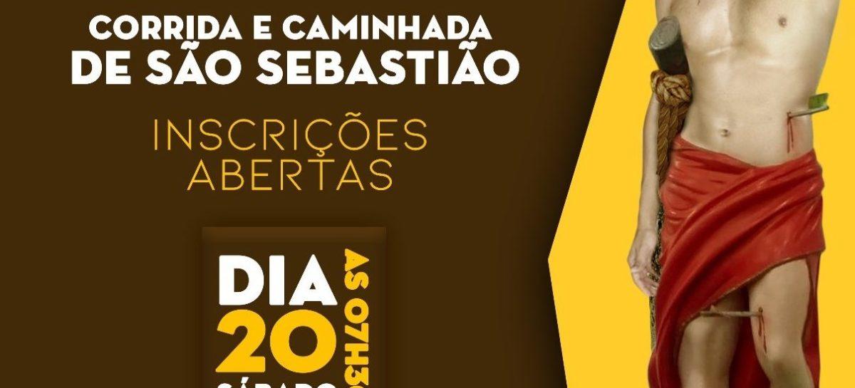 Inscrições para a tradicional Corrida de São Sebastião iniciam hoje