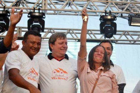 Alegria e emoção marcam entrega de casas para mais 76 famílias de Parauapebas